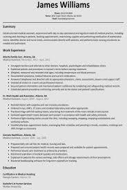 College Student Resume Templates Microsoft Word 40 Resume