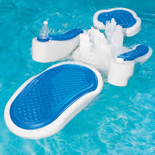 back to floating pool chairs for backyard
