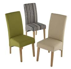roma fabric dining chair pair chairs furn on