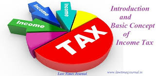 Basic Concep Introduction And Basic Concept Of Income Tax Law Times Journal