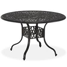 home styles fl blossom round dining table 48 inch charcoal