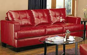 samuel red leather sofa collection samuel red leather sofa