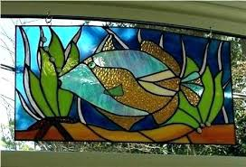 stained glass fishes stained glass fish patterns stained glass jellyfish pattern stained glass fish craft