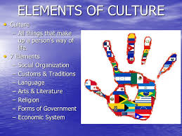 7 Elements Of Culture Elements Of Culture Lessons Tes Teach