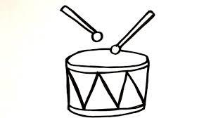 Alat musik yang biasanya … Menggambar Alat Musik Drumband Senar Dram Untuk Anak Youtube