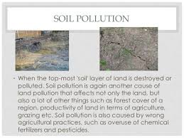land pollution soil pollution•