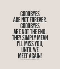 I Will Miss You Quotes Mesmerizing Well If This Is True For Now Good Bye And I'll Miss You Til Then