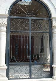 front door gateWrought Iron Entry Front Door Custom Metal Door Exterior Forged