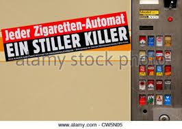 The Vending Machine Killer Fascinating Berlin Cigarette Vending Machine Stock Photo 48 Alamy