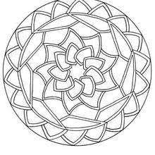 Small Picture Mandalas for BEGINNERS Coloring pages Printable Coloring Pages