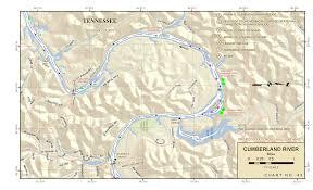 Cumberland River Navigation Charts Smithland Kentucky To