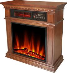 hearth trends dresden infrared electric fireplace