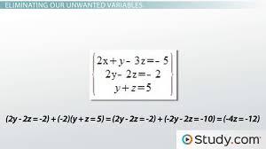 solving simultaneous linear equations lesson transcript study com
