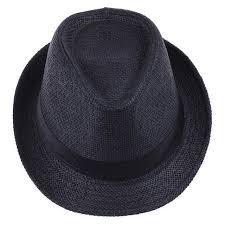 <b>Fashion</b> Summer Casual <b>Trendy</b> Beach Sun Straw Jazz Hat Cowboy ...
