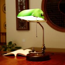 bankers desk lamp.  Lamp Bankers Desk Lamp Vintage Table Lighting Fixture Green Glass Cover Shade  Birch Wood Base Antique Adjustable Articulatingl Cordin Desk Lamps From Lights  Throughout Lamp B