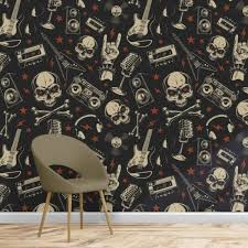 graphic and motif wallpaper