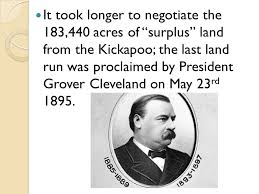 「President Grover Cleveland signs the Dawes Severalty Act into law.」の画像検索結果