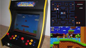 Raspberry Pi Game Cabinet Rpi Arcade Machine For 2 Players Darkbluebitcom