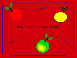 Apples Make A Chart A Book And More