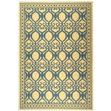 10 x 11 rug tropics natural blue indoor outdoor rug x
