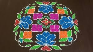 Sankranthi Designs With Dots Rangoli Design 50 Latest Sankranti Chukkalu Dot Muggulu