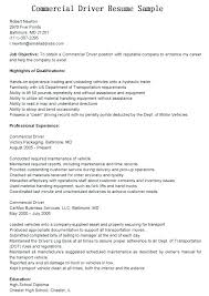 Driver Resume Objective Best of Resume For Truck Driver Truck Driver Resume Sample Cdl Truck Driver
