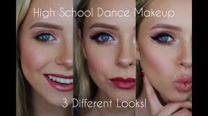 high dance makeup three diffe looks cosmobyhaley
