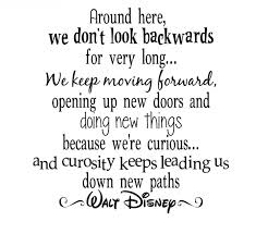 Famous Move On Quotes By Walt Disney Golfiancom
