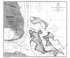 Historical Nautical Chart Cp939c Mosquito Inlet To Key West