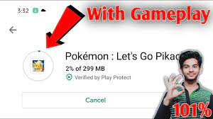 101% Working   How to download Pokémon - Let's Go pikachu game on android