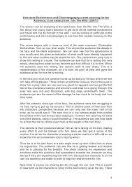 Evaluation Essay Example Essay Film Writing A College Essay Film