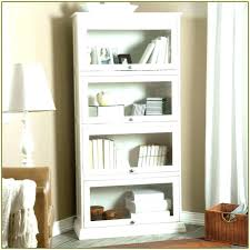 bookshelf with glass doors white bookcase with glass doors bookshelf with glass doors billy bookcase glass