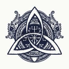 Fototapeta Draci A Keltský Uzel Tetování A Tričko Design Draci Symbol