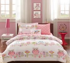 girl full size bedding sets girls owl bedding ebay