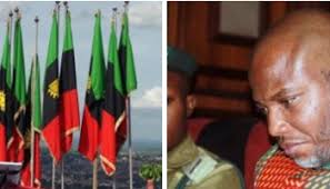 Image result for NNAMDI KANU IN B IAFRA REGALIA