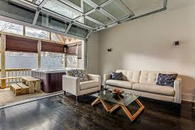interior garage doorLoft  Interior Sectional Glass Garage Door  Transitional