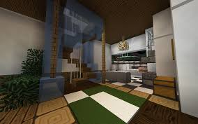 Minecraft Modern Kitchen Interior Kitchen Modern Igloo Hub House Gallery Sixtygig