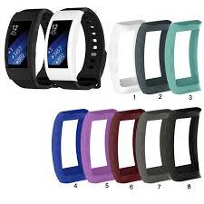 Ốp Silicone Dẻo Bảo Vệ Mặt Đồng Hồ Thông Minh Samsung Gear Fit 2 Pro / Fit2