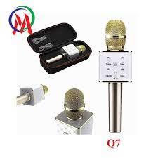 Mic Karaoke Q7 Kèm loa - Dàn âm thanh