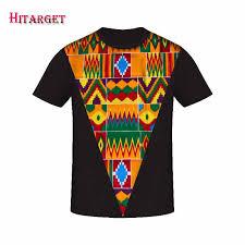 <b>Hitarget New 2019</b> Style <b>African</b> Print t Shirt Short Sleeve Casual ...