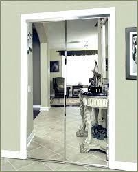 decoration mirror closet door rollers sliding doors track system