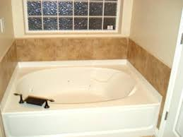 impressing garden bathtub tub with jets and faucet keep clean a home