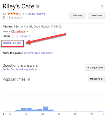 Google Phone Listing Optimize Your Google My Business Listing Raven5
