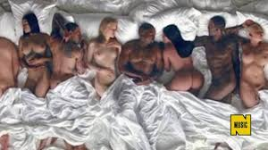 Taylor Swift NUDE on Kanye West s Famous Music Video YouTube