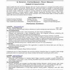 Recruiting Coordinator Resume Sample Resume Work Template
