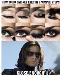 even villains can t beat the smokey eye 16 hysterically funny makeup image via avengers memes