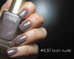 L Or al Paris Collection Priv e Exclusive Nudes Nail Polish 2014.
