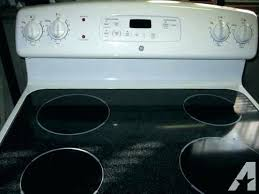 ge stove top glass replacement electric ran parts ceramic burner not working ge electric stove top o3