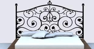 headboard wall stickers and decals baroque wall art dezign with a z baroque headboard decals for bedroom walls