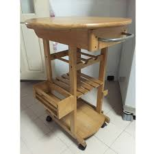 Solid Wood Kitchen Side Table Home Appliances Kitchenware On Carousell